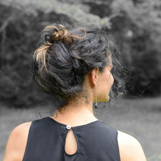 ... La petite robe noire... en soie par Vestiaire De Jeanne ©GARANCE CASSIEN  ... 19a32b7125fc