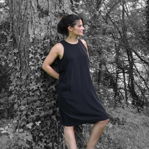 La petite robe noire... en soie par Vestiaire De Jeanne ©GARANCE CASSIEN 7f29dbb5638e