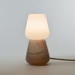 La lampe à poser Duo - Collection Moire - Moka - Atelier George - Photo ©Atelier George