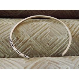 Bracelet carré - Argent - Lucy Luce - Photo ©GARANCE CASSIEN