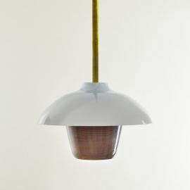 "Pendant light ""Lanterne"" - Moire Collection - Atelier George - Photo ©Atelier George"