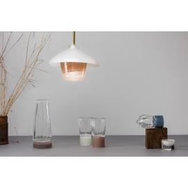 Suspension Lanterne - Collection Moire - Atelier George - Photo ©Atelier George