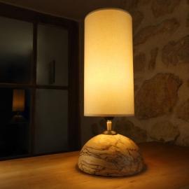 Lampe en tilleul échauffé et ébène - Fabien Haurat - Photo ©GARANCE CASSIEN