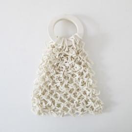 Le maille bag en porcelaine blanche - Claire Marfisi - Photo ©Claire Marfisi
