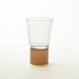 Tee glass - Moire Collection - Moka - Atelier George - Photo ©Atelier George