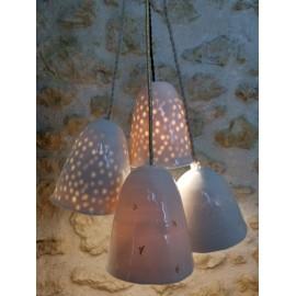 Lampe baladeuse en porcelaine -  Myriam AIT AMAR - Photo ©GARANCE CASSIEN