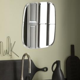 Miroir extra plat formes irrégulières et aléatoires - Rectangle arrondi - 44x55cm - M Nuance - Photo © M Nuance