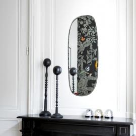 Miroir extra plat formes irrégulières et aléatoires - Rectangle arrondi - 35x83cm - M Nuance - Photo © M Nuance