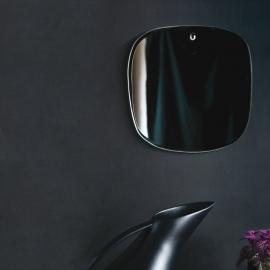 Miroir extra plat formes irrégulières et aléatoires - Carré arrondi - Naturel - M Nuance - Photo © M Nuance