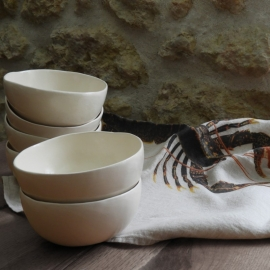 Bols en faïence - Moana Céramiques - Photo ©GARANCE CASSIEN