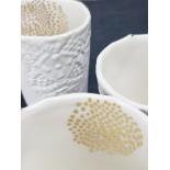 Tasse porceleine blanche - Myriam Aït Amar - Photo ©GARANCE CASSIEN