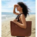 Sac à main cabas en cuir marron - Julia - Léonny Cha - Photo ©GARANCE CASSIEN