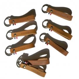 Porte clés en cuir - Léonny Cha - Photo © GARANCE CASSIEN